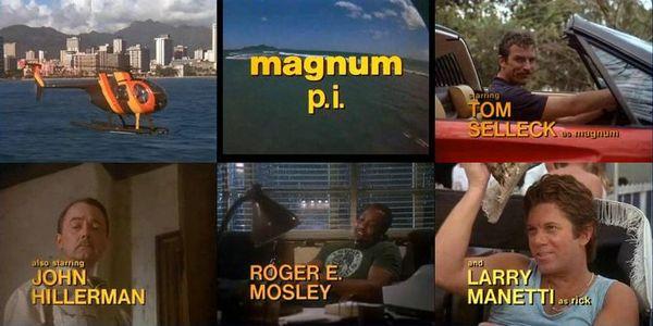 Magnum szereplők, képek a főcímből
