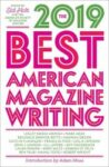 The 2019 Best American Magazine Writing